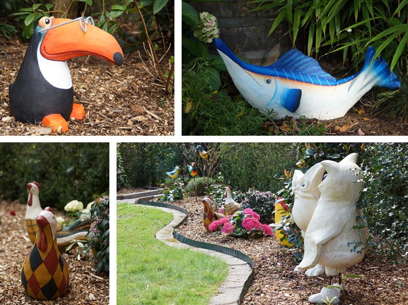 Skulpturen-Garten Kompo 3